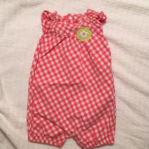 Carter's One Pieces - Carter's baby girl rompers